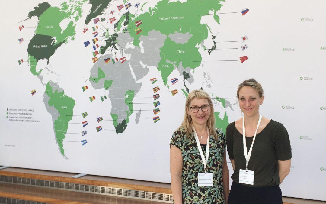 Hallå där, Margareta Dahlström, professor i kulturgeografi, som deltog Global Bioeconomy Summit i Berlin