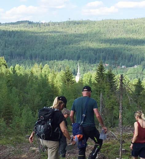 Skogens många värden tema på exkursion i norra Värmland