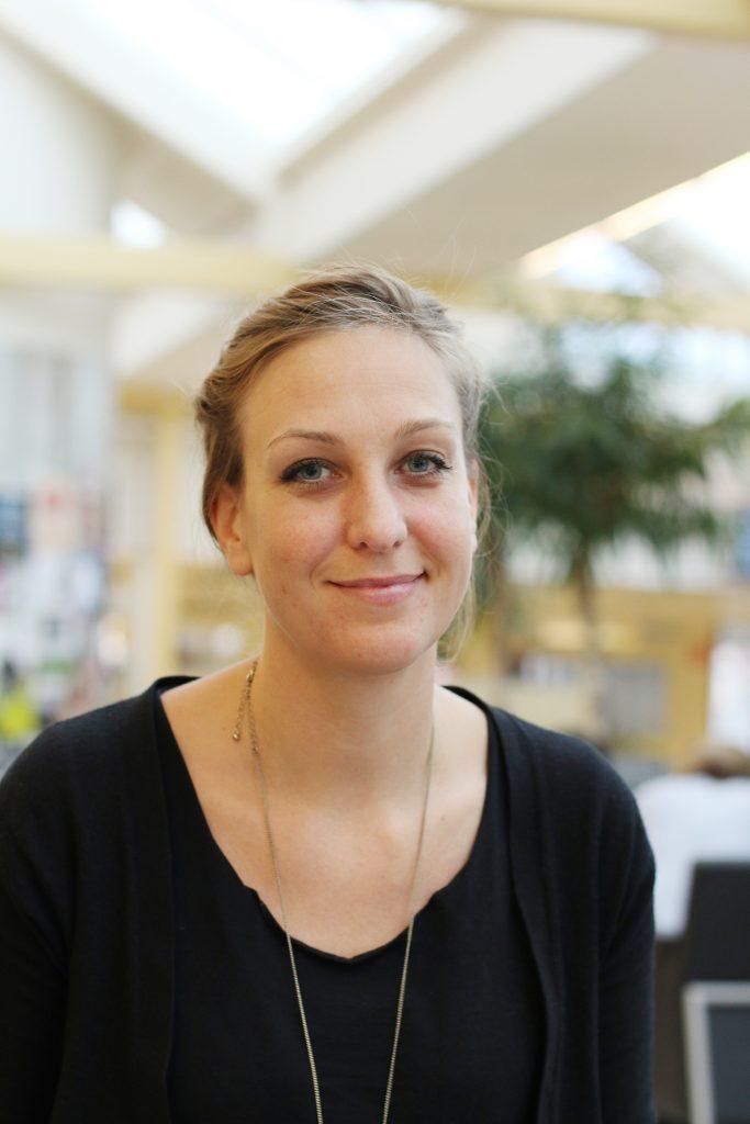 Porträttbild på Ida Grundel