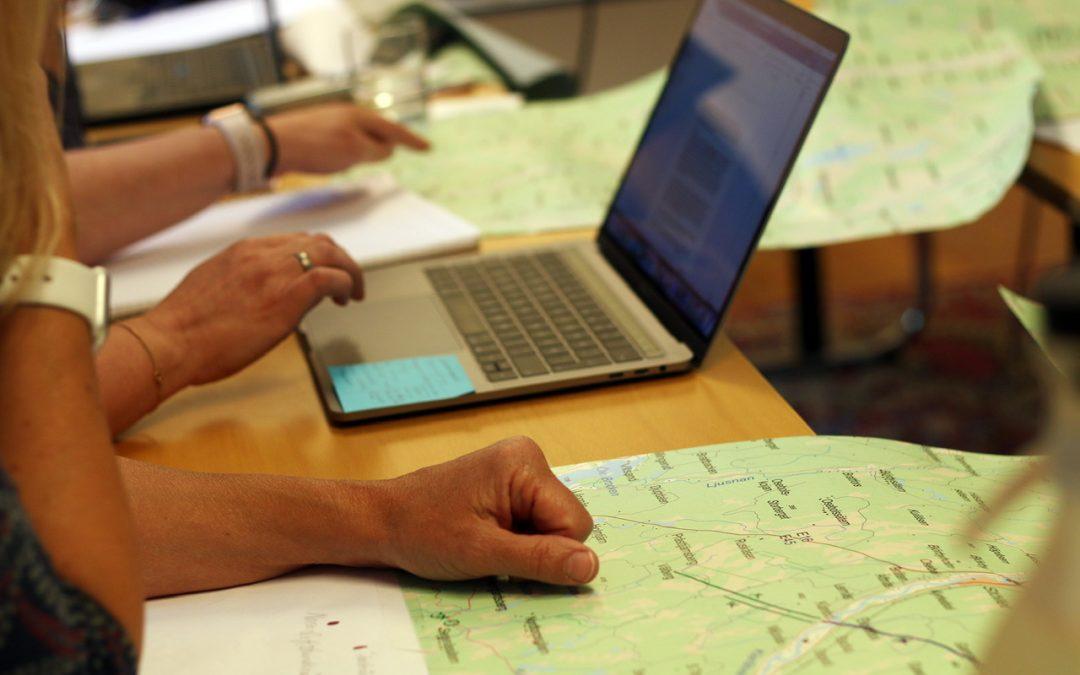 25 augusti: Demonstration av geografisk informationshantering för kartläggning av landskapsresurser